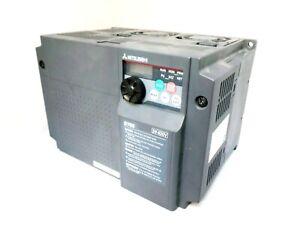 MITSUBISHI FR-D740-120-EC INVERTER DRIVE, 3 PHASE IN, 0.2-400HZ OUT, 5.5KW, 400V