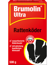 SBM Brumolin Ultra Raticide, 500 Outil
