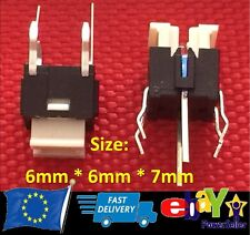 6 x 6 x 7mm with LED Illuminated Switch 6Pin Momentary Push Button Tactile - V29