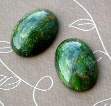 03419 Czech Glass Oval Cabochon 25 x 18 mm - pack of 2