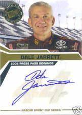 Press Pass 2008 Signing Dale Jarrett Autograph Card