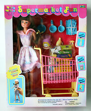 Vintage Betty Walker Bendable Doll Supermarket Fun M&C Sindy Petra Ko New Nos !