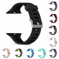 Band Strap For Apple Watch New Replacement Sports Silicone Smart Watch Wristband