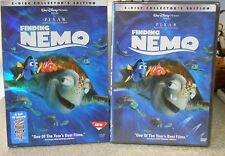 Finding Nemo (Dvd, 2003, 2-Disc Set) Brand New W / Slipcover Buena Vista Stamp