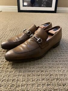 Gucci Loafers men size 11.5US 10.5 Euro tobacco leather. Needs a Good Shine