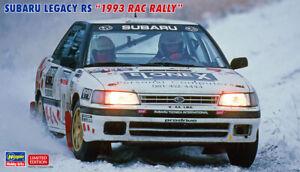 Hasegawa 20467 1/24 Scale Model Sports Car Kit Subaru Legacy RS RAC Rally 1993