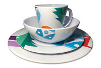 OLPRO Melamine Set 16 Piece - OLPRO Spring Bay Design