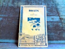 1934 Boats ~ by Beatrice J Hurley ~ Unity Study Books # 303