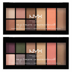 NYX PROFESSIONAL MAKEUP The Go-to Palette ~ Wanderlust or Bon Voyage ~ SEALED