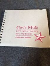 GOV'T MULE LIVE WITH A LITTLE HELP FROM OUR FRIENDS 4CD Set With Patch Allman