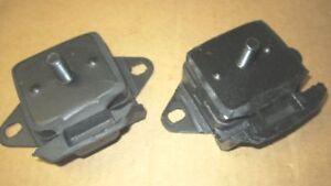 76-86 JEEP CJ7 MOTOR MOUNTS  JEEP J10  2.5 3.8 4.2  151 232 258 AMC HORNET PAIR