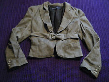 French Connection smart grey tailored suit jacket size 12 business formal