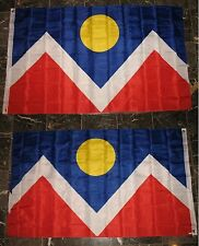 3x5 City of Denver Colorado 2 Faced 2-ply Wind Resistant Flag 3x5ft
