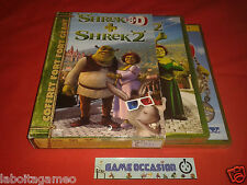 SHREK 3D + SHREK 2 BOX 3 DVD FULL