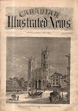1870 Canadian Illustrated News May 7 - Sherbrooke; Volunteers Review; Moharrem