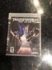 Transformers The Game PS3 New Sealed Rips And Tears On Seal