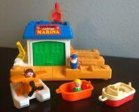 Fisher Price Little People Floating Marina Sea Plane #2582