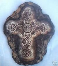 Plastic tuscan cross mold. plaster cement mould