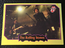 The Rolling Stones 1997 Argentina International Rock Cards Licensed Real Rare
