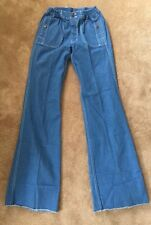 Dead Stock Vintage 70s US Lines Bell Bottom Wide Leg Jeans Sailor Military 60s