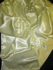"Vintage: Satin! ""Special� High Shine Double-Sided Bridal Satin Balloon Shirt"