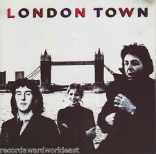 Paul McCartney & Wings London Town 1977 CD EMI Records Argentina Import OOP