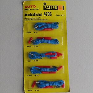 Faller AMS 4706   --  5 Anschluß Kabel in OVP (DEZ430)