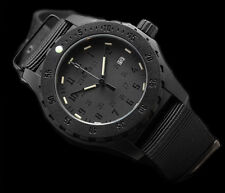 SWISS MADE H3 TRITIUM BLACK TACTICAL HERRENUHR  NACHLEUCHTEND TOP PREIS