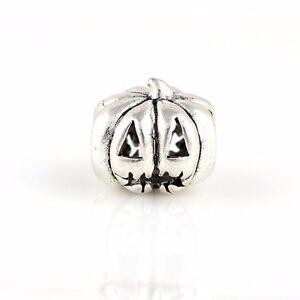 pumpkin halloween scare trick treat costume Charm PD charms bead beads gift UK