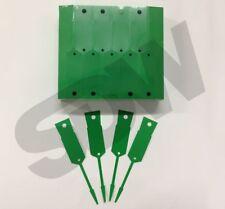 Versa Tags Arrow ID Self Locking Service Key Tags (1000 pack) Green Key Tags