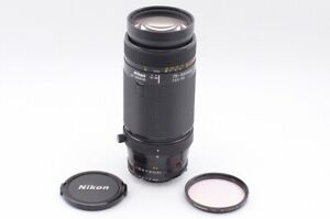 """""""Mint"""" Nikon AF 75-300mm F/4.5-5.6 Telephoto Zoom Lens From Japan 120A"""