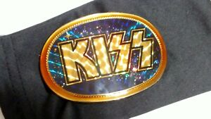 KISS 1978 Belt Buckle Ace Frehley Pacifica Aucoin Gene Simmons Logo Vintage Rare