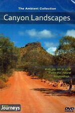CANYON LANDSCAPES VIRTUAL WALK WALKING TREADMILL WORKOUT DVD AMBIENT COLLECTION