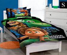 SINGLE BED DISNEY THE GOOD DINOSAUR ARLO SPOT QUILT DOONA COVER SET + PILLOWCASE