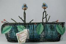 New 3 Votive Holders Wire Nests & Birds - By Enchanted Garden #A3124 Nwt