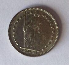 1963 B Switzerland 1 Franc SILVER (0.835 fine, 0.1342 oz)