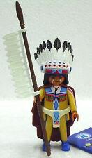Capo Indiani PLAYMOBIL figures 4 Boys 5284 a per accumulare Bison 474