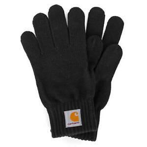 Carhartt wip watch Gloves Black - Men's winter Knitted Gloves