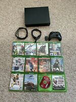 Microsoft Xbox One X 1TB Console Bundle -  Black 11 Games & Controller & Cable