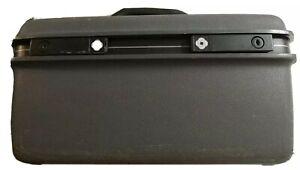 Vintage Samsonite Advantage SS Locking Black Gray Travel Hard Cosmetic Case Keys