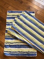 Pottery Barn Kids Shower Curtain And Bath Mat UEC