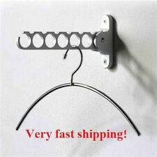 Clothes Hanger,Tie,Belt Organizer.Wall Mount Rack Holder.Closet Dress,Scarf Hook