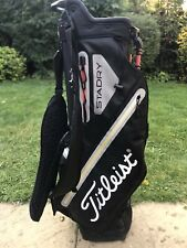 2018 Titleist Stadry Players 4 Waterproof Golf Stand Bag - Good Used