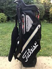 2018 Titleist Stadry Players 4 Waterproof Golf Stand Bag / Rainhood / Good Used