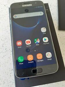 Samsung Galaxy S7 MOBILE PHONE - 32GB - Black Onyx (Unlocked) - IMMACULATE !!