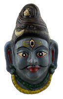 Maschera Nepalese Lord Shiva Indra Jatra Festival Nepal Carta Mache 35 CM 4006