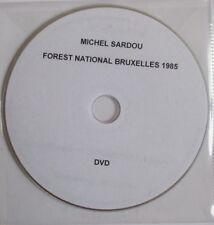 "MICHEL SARDOU - DVD PROMO ""FOREST NATIONAL BRUXELLES 1985"""