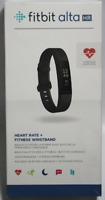 ORIGINAL BOX Fitbit Alta HR Heart Rate & Fitness Activity Tracker Black Large