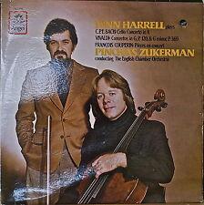 LYNN HARRELL Plays CPE BACH/VIVALDI/COUPERIN-M1980LP ZUKERMAN/ENG CHAMBER ORCH