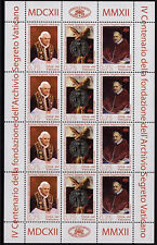 Vatikan Vaticano 2012 KB Kleinbogen Nr.1745 -1747 ** MNH postfrisch Geheimarchiv